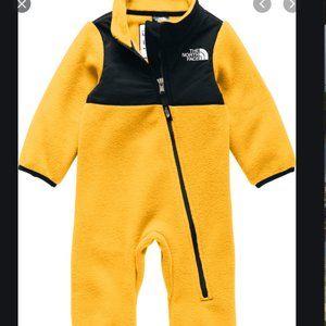 NEW North Face Infant Denali Onesie